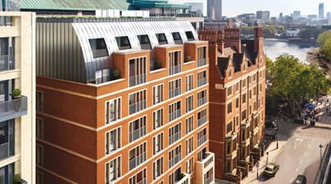 Londra'nın 22 Rezidanslık Butik Projesi: Temple House