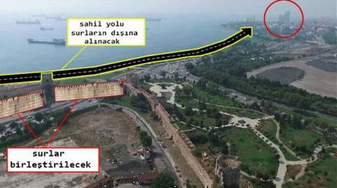 Tarihi Surlara Avrasya Tüneli Düzenlemesi