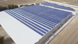 Kahramanmaraş'a Güneş Enerjisi Santrali Kuruldu