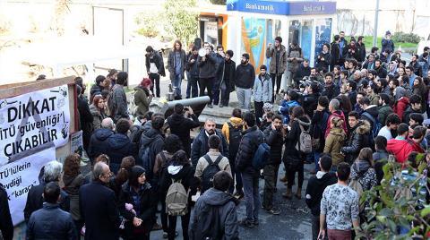 İTÜ Maçka Kampüsü'nde Halaylı Horonlu Eylem