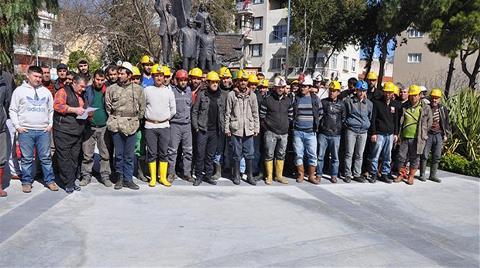 Madenciler İş Bıraktı