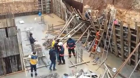 Bakırköy'de Bina Çöktü