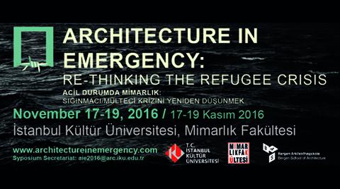 Acil Durumda Mimarlık: Sığınmacı/Mülteci Krizini Yeniden Düşünmek