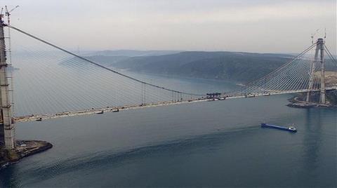 3. Köprüde İki Yaka Pazar Günü Birleşiyor