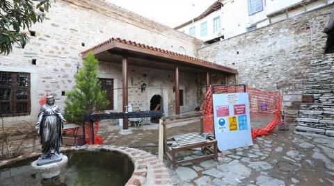 Şirince'deki Tarihi Kilisenin Restorasyonu Bitmek Üzere