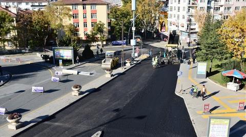 Ankara Büyükşehir'den 4 Milyon Ton Asfalt