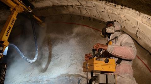 40 Bin İşçi Dağları Delip Tünel Açıyor