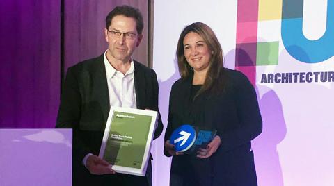 """Tabanlıoğlu'na MIPIM'den """"En İyi Büyük Ölçekli Kentsel Proje"""" Ödülü"""