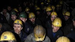 Amasya'da Maden İşçileri Yol Kapattı