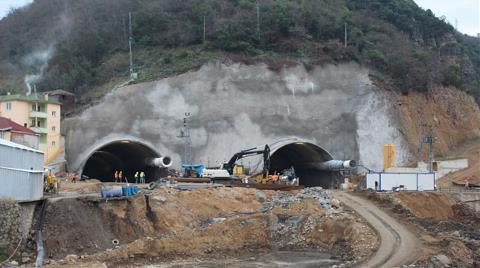 Türkiye'de Bir İlk Olan Tünelde Sona Gelindi