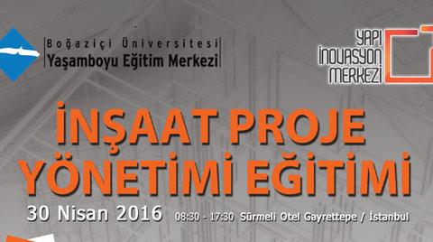 İnşaat Proje Yönetimi Eğitimi