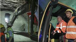 Ilgaz Tüneli'nde Son Delme İşlemi Yapıldı