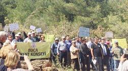 İzmir Urla'daki Direniş Ağaç Kesimini Engelledi