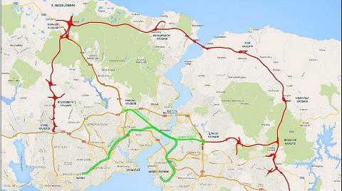 '3 Katlı Büyük İstanbul Tüneli' Etüdü için 35 Milyon Lira Ayrıldı