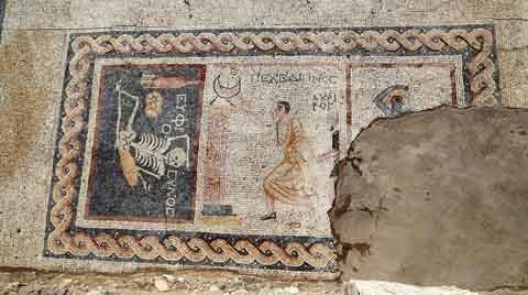 Antakya'da M.Ö. 3. Yüzyıla Ait Mozaik Bulundu