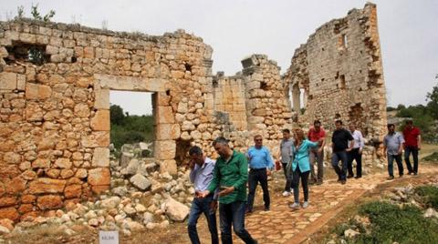 Mersin'de Akkale Antik Kenti'nde Restorasyon Başlıyor