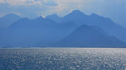 Akdeniz'i Kirletene 413 Bin Lira Ceza