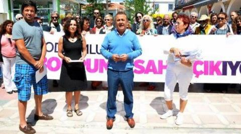 Bodrum'da 34 Bin İmzalı Tepki