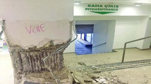 Atatürk Stadı'nda Yıkım Başlıyor