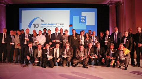 10. Saint-Gobain Uluslararası Gypsum Trophy Ödülleri Verildi
