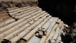 Kocaeli'nde 2 Bin Yıllık Tapınak Merdiveni Bulundu