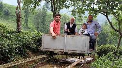 """Rizeli Ali Rıza Dede """"Telesansör""""den Vazgeçmiyor"""