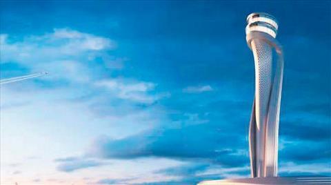 Havalimanında Kulenin Temeli Atıldı