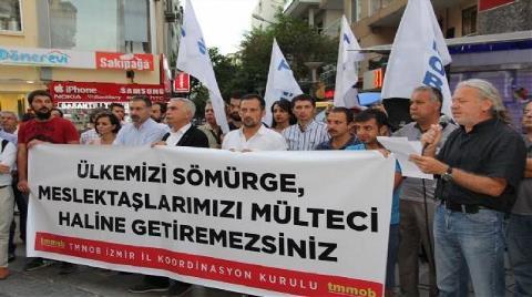 TMMOB İzmir'den 'İşgücü Tasarısı'na 'Sömürge' İsyanı!