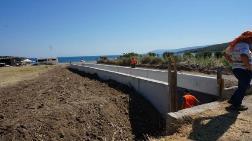 1. Derece Doğal Sit Alanına Beton Boru Döşediler