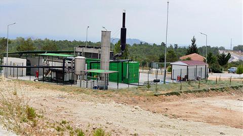 Çöp'ten Elektrik Üretimi Başladı