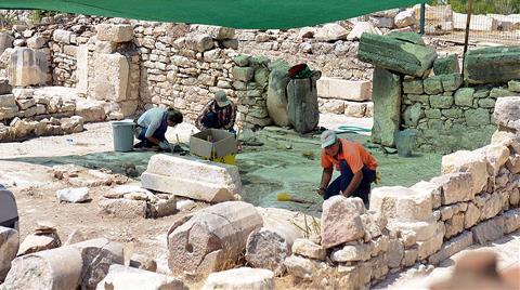 Rhodiapolis Antik Kenti'nde Kazı Çalışmaları Başladı