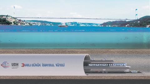 İstanbul Tüneli için Teklif Verecek Firmalar Belli Oldu