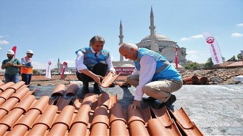 Kapalıçarşı'nın Çatıları 10 Milyon Liraya Restore Edilecek