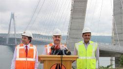 '3. Köprü Tamamen Bitmiş Durumda'