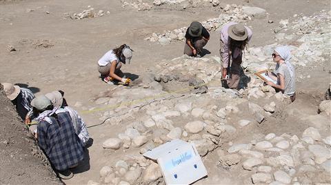 2400 Yıllık Ateş Tapınağı Gün Yüzüne Çıkarıldı