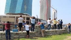 İzmir'de Gökdelende Facia