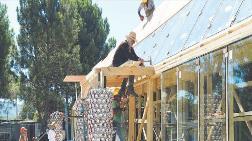 Duvar Çöpten Elektrik Güneşten