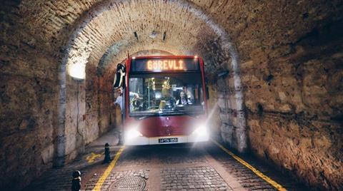 Tarihi Tünel Trafiğe Açıldı