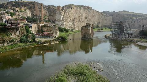 """""""Hasankeyf'in Sular Altında Kalma Tehlikesi Sürüyor"""""""