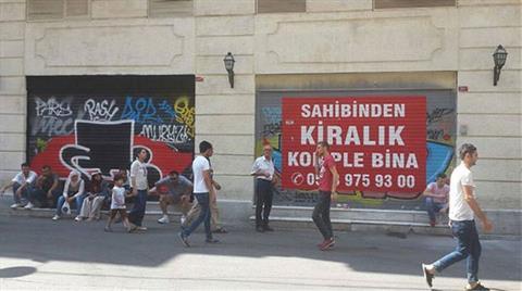 İstiklal Caddesi Talanı Dünya Gündeminde