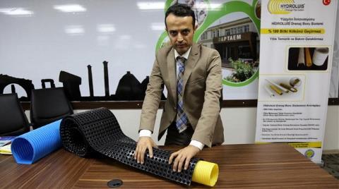 Türk Girişimci Tıkanmayan Drenaj Borusu Yaptı