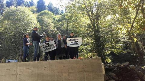 "Kaçkarlarda ""Macera Parkı"" Protestosu"
