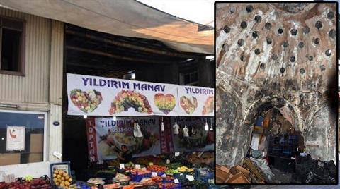 300 Yıllık Osmanlı Hamamı Manav Oldu