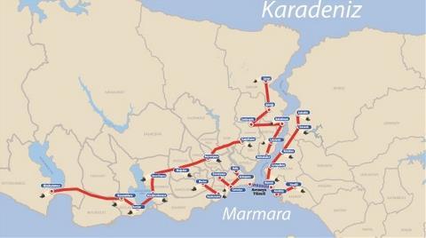 İstanbul'un Altına 145 km. Tünel