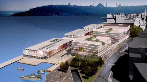 Galataport'ta Amaç Liman Değil