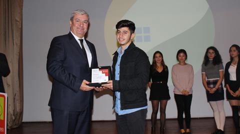 """""""Köyünü Yaşat"""" Projesinin Sponsorları Genç Tasarımcıları Ödüllendirdi"""