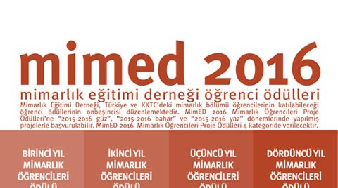 MimED2016 Mimarlık Öğrencileri Proje Ödülleri