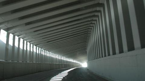 Türkiye'nin İlk Prefabrik Tüneli Hizmete Girdi