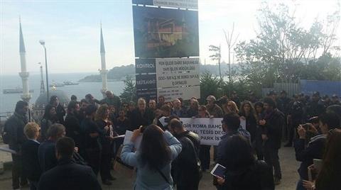 Roma Bahçesi için Basın Açıklaması: Takipçisiyiz!