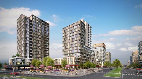Bahçeşehir'de Caddeli Hayat Konseptli Yeni Proje